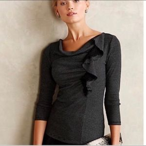 Anthropologie top XS GUC
